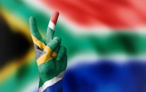 South African flag colors